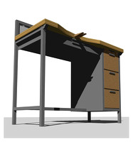 Furniture: University of Oregon Jewelry Desk