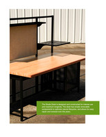 Furniture: University of Minnesota Studio Desk