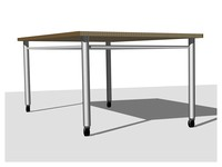 Furniture: University of Oregon Art Table